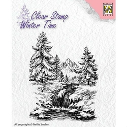 Zimowy stempel Nellies - góry - 004