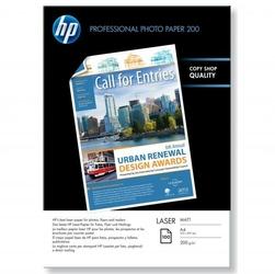 HP Photo Laser Paper 200 M, foto papier, matowy, biały, A4, 200 gm2, 100 szt., Q6550A, laser,dwustronny druk