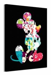 Mickey Mouse Patterns - obraz na płótnie