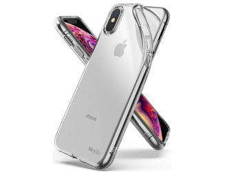 Etui Ringke Air do Apple iPhone XXs Clear + 2x Folia Ringke - Przezroczysty
