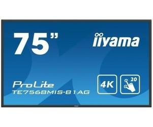IIYAMA 75 TE7568MIS-B1AG INFRARED,4K,IPS,247,MULTITOUCH