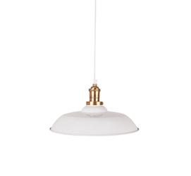 Dutchbone :: Lampa wisząca CORE Biała - biały