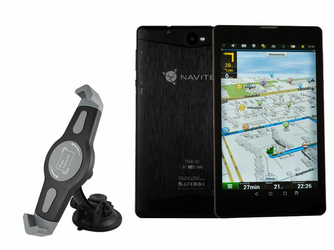 Tablet Navitel T500 modem 73GGPS + Mapa Europy + Uchwyt