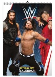 WWE Men - kalendarz A3 na 2019 rok