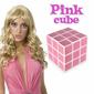 Kostka dla blondynek Pink Cube