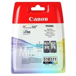 Tusze Oryginalne Canon PG-510 + CL-511 2970B010 komplet - DARMOWA DOSTAWA w 24h