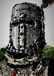 POLYamory - Solaire, Dark Souls - plakat Wymiar do wyboru: 20x30 cm