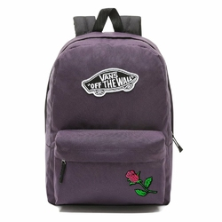 Plecak szkolny Vans Realm - VN0A3UI6UUS - Custom Pink Rose - Rose