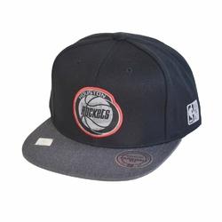 Mitchell  Ness Team NBA Logo Houston Rockets Snapback - MN-HWC-INTL305-HOUROC-BLK-OS