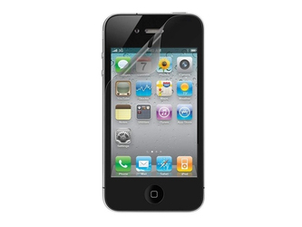 2x Folia ochronna na ekran do iPhone 4  4s + 2x ściereczka