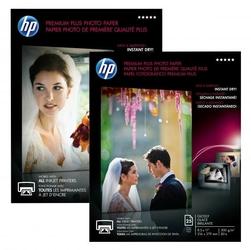 HP Premium Plus Glossy Pho, foto papier, połysk, biały, A4, 300 gm2, 20 szt., CR672A, atrament