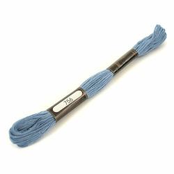 Bawełniana mulina do rękodzieła 8 m - niebieski - niebieski