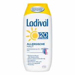 Ladival żel do skóry alergcznej z filtrem SPF20