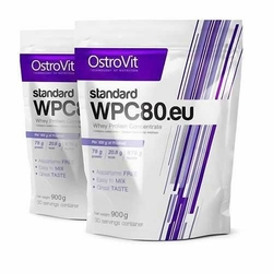 OSTROVIT WPC 80.eu Standard - 900g x 2 - Strawberry