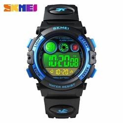 Zegarek dziecięcy SKMEI 1451 elektroniczny black - black blue