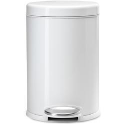 Biały kosz na śmieci 4,5 Litra - pedałowy simplehuman biały CW1853CB