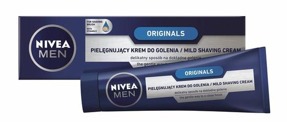 Nivea For Men Originals, pielęgnacyjny krem do golenia, 100ml
