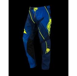 Spodnie Kenny Track niebiesko-neonowo-żółte