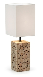 Lampa stołowa PUEMO biała - 3