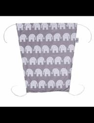 Żagiel przeciwsłoneczny - szare słonie