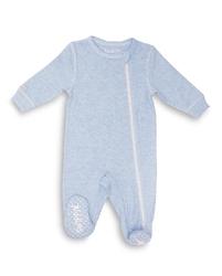 Pajacyk dla dziecka - niebieski melanż 6-12 m