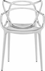 Krzesło Masters metalizowane chromowane