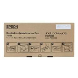 Pojemnik na zużyty tusz Oryginalny Epson T6191 C13T619100 - DARMOWA DOSTAWA w 24h
