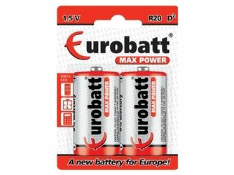 Eurobatt Bateria D R20  MaxPower 1,5V