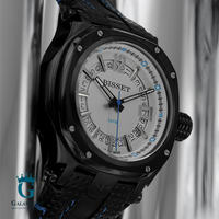 Zegarek Bisset z białą tarczą BSCD25BS