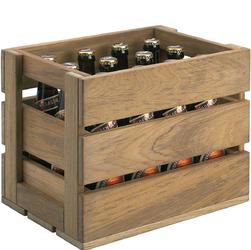 Skrzynia drewniana na 12 butelek piwa Dania Skagerak S1600568