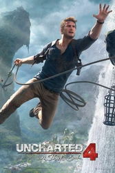 Uncharted 4 A thiefs End - plakat