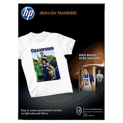 Nośnik HP Iron-On Transfers – 12 arkuszyA4210 x 297 mm