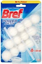 Bref Power Aktive Balt, Pure White, trójpak, zawieszka do muszli toaletowej, 3x51g