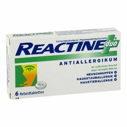 Reactine Duo Retardtabl.
