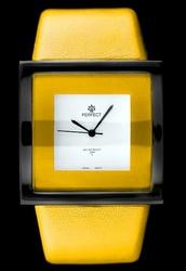 Zegarek damski PERFECT - CKKC - żółty zp662e