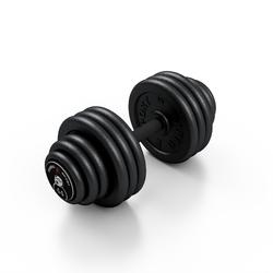 Hantla skr�cana na sta�e 44 kg - Marbo Sport - 44 kg