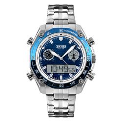 Zegarek ELEGANCKI SKMEI 1204 TACHOMETR BLUE - BLUE