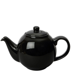 Dzbanek do herbaty London Pottery Globe czarny połysk 1,1 Litra LP-17230185
