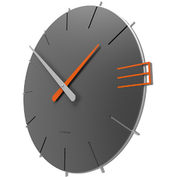 Zegar ścienny Mike CalleaDesign szary 10-019-3