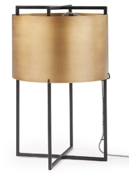 Lampa stołowa VISTA mosiężna