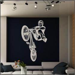 szablon malarski rower bk1