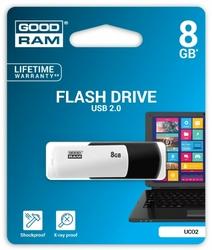 GOODRAM COLOUR BLACKWHITE 8GB USB2.0