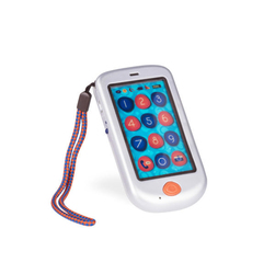 B.toys Hi Phone – telefon dotykowy Metallic srebrny