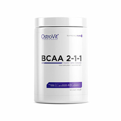 Ostrovit BCAA 2-1-1 400g Skuteczna Regeneracja - Pure