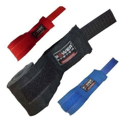 POWER SYSTEM Bandaż Bokserski - boxing Wraps - 4m - Red