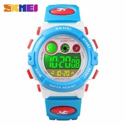 Zegarek dziecięcy SKMEI 1451 elektroniczny white - WHITE BLUE