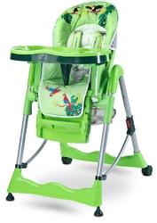 Caretero Magnus Fun Zielone Krzesełko do karmienia + PUZZLE