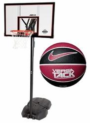 Zestaw do koszykówki Lifetime New York Downtown + Piłka do koszykówki Nike Versa Tack 8P