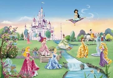 fototapeta Disney Zamek Księżniczki 8414