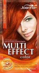Joanna Multi Color, szampon koloryzujący w saszetce, 15 płomienny rudy